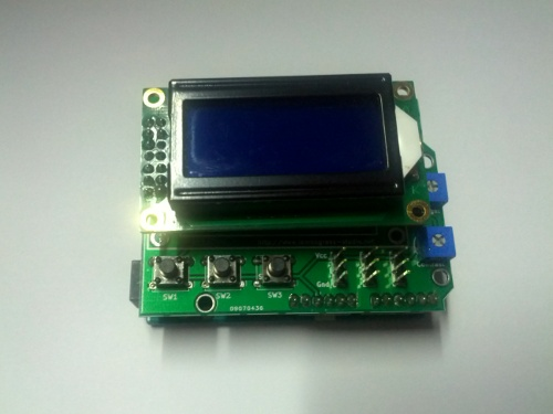 FAY Mini-Character LCD Shield