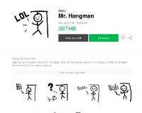 Mr. Hangman LINE Sticker